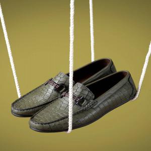 کفش مدل  کروکودیل